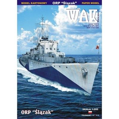 ОАК 1 /19 - Эсминец ORP Слензак 1 :200