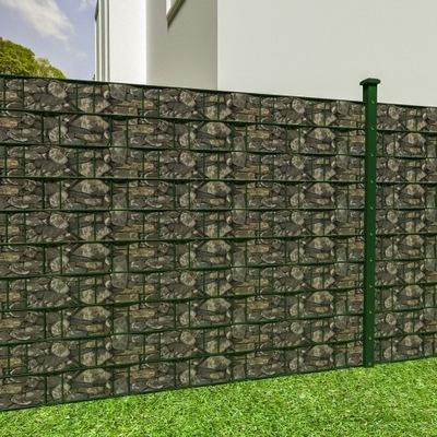 Folia balkonowa osłona PVC ogrodzeniowa 70m 401880