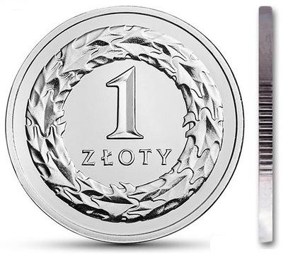 1 zł złoty 2013 mennicza mennicze z woreczka