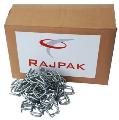 drôtu Spony pre PP pásku RAJPAK 13 mm 1000 Ks