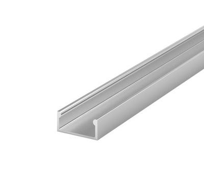Алюминиевый профиль для лент LED BRG-4 2M + абажур