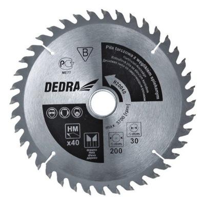 Kotúčová píla na drevo 250/30/mm lamiel cermet zatriedený sklopiť 80z Dedra H25080
