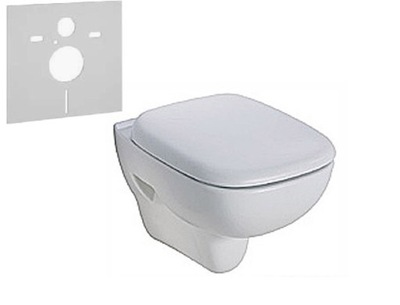 WC misa - KOLIESKOVÝ KÚPIŤ STOJANIE WC WC RIMFREE L23120 + MATA