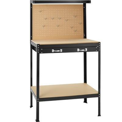стол верстак из доски 81x41x145cm 402749