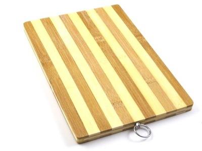 БОЛЬШАЯ доска bamboo деревянная для 34x24 нарезки