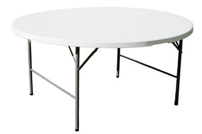 SKLADACÍ STÔL OKRÚHLY priemer 181 cm cateringowy tabuľka