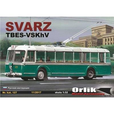 Orlik 127 - Trolejbus SVARZ TBES-VSKhV 1:32