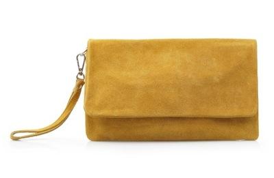 56d0d6bfd3289 Żółta torebka musztardowa na łańcuszku hit vintage - 7535658565 ...