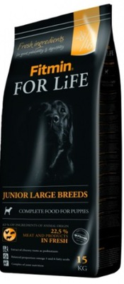 Fitmin FOR LIFE JUNIOR LARGE 2 x 15 кг