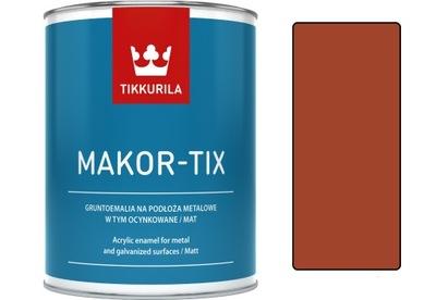 Tikkurila Makor-tix náter na zinok 10 L meď