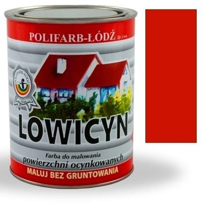 Lowicyn náter na zinok TEHLA RAL8004 MAT 5L