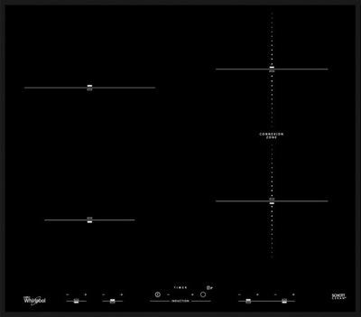 плита индукционная  ACM932BA 7 ,2квт 4 поля