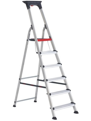 Rebrík krok rebrík hliníkový 6-stupňovou ALTREX