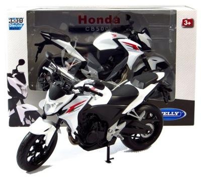 Honda CB500F МОДЕЛЬ Металл /пластик Welly MOTOR 1 :10