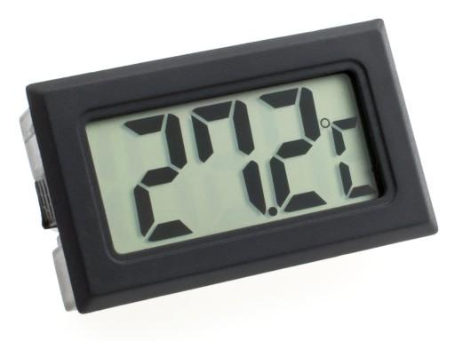 TERMOMETR ELEKTRONICZNY CYFROWY LCD SONDA 100cm