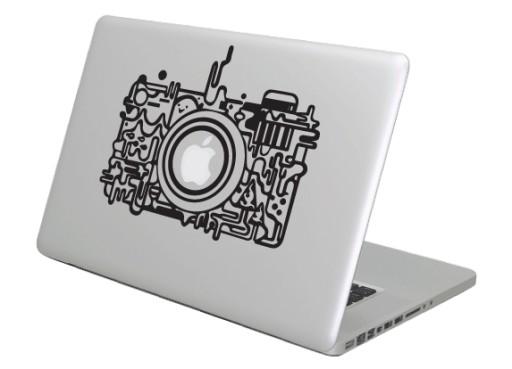 Naklejka na Macbooka Apple, laptopa Aparat 'melt'