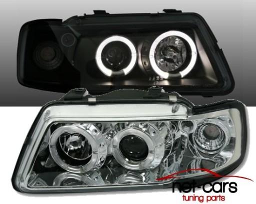 Lampy Reflektory Audi A3 S3 8l Angel Eyes Led C Wroclaw Allegro Pl