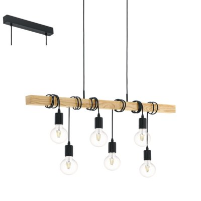 Lampa Nad Stół Loft Vintage Eglo Townshend 95499