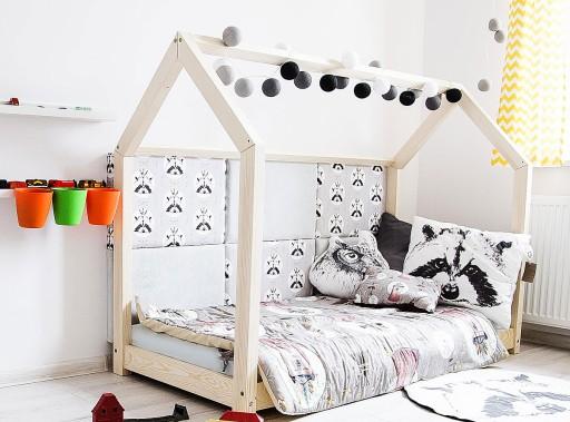 łóżko Typu Domek Dzieci Młodzież 120x200 140x200