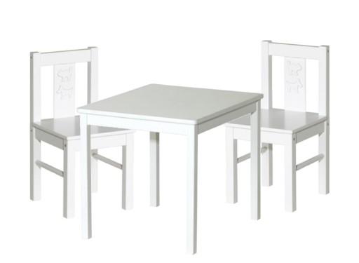 Ikea Kritter Krzesełko 2szt Stolik Kritter 1szt