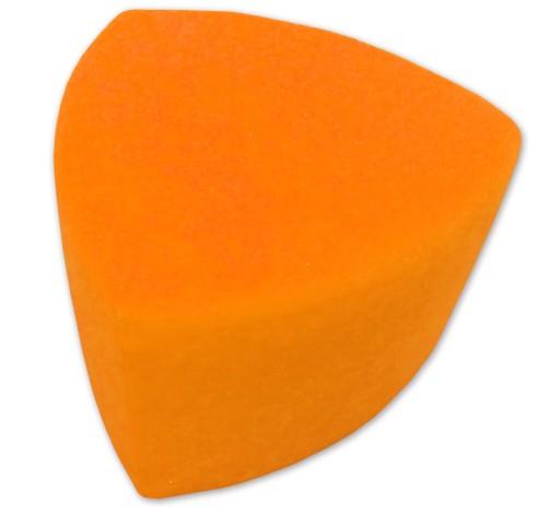 Pufa trójkątna trójkąt KOLOR POMARAŃCZOWY 79
