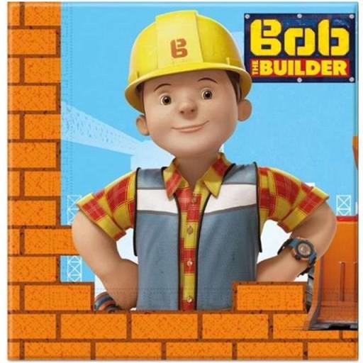 Serwetki Bob Budowniczy Na Urodziny Party 20 Szt 7014849217 Allegropl