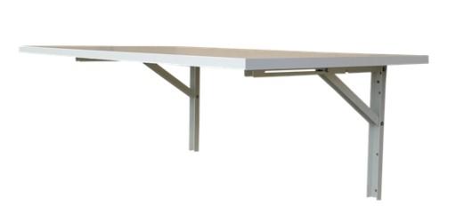 Stół Stolik Składany ścienny 70x50 Rozkładany 8kol