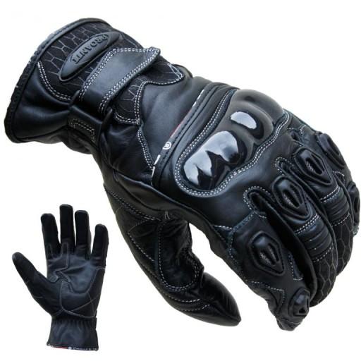 Rękawice motocyklowe PROANTI 1 Czarne Lubartów