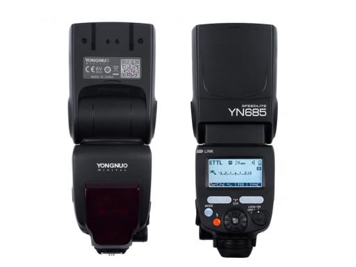 Lampa Błyskowa Yongnuo YN-685 Nikon HSS TTL