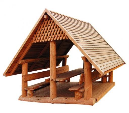 Meble Ogrodowe Drewniane Altana Szalas Producent 7941882914 Allegro Pl