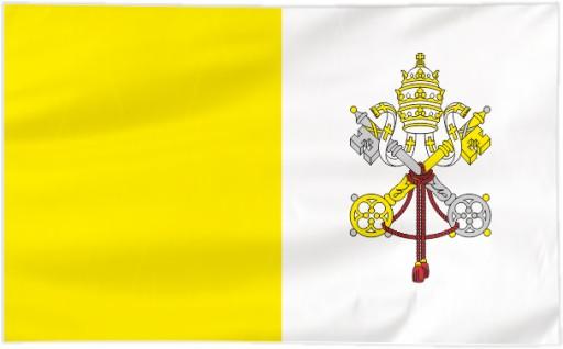 Flaga Watykan 150x90cm - flagi Watykanu qw