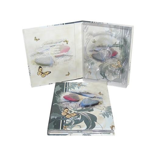 Ślubne etui pudełko na 3 płyty CD/DVD ŚLUB EMPOL