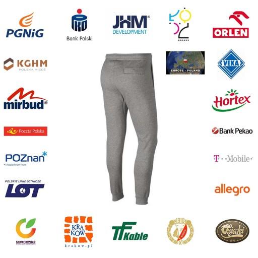 Spodnie męskie Nike M NSW HBR Jogger FLC SIZE XL 9860816955 Odzież Męska Spodnie XM KBNIXM-4