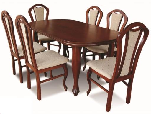 Komplet Mebli Do Salonu Jadalni Krzesła I Stół Z13 5143665702