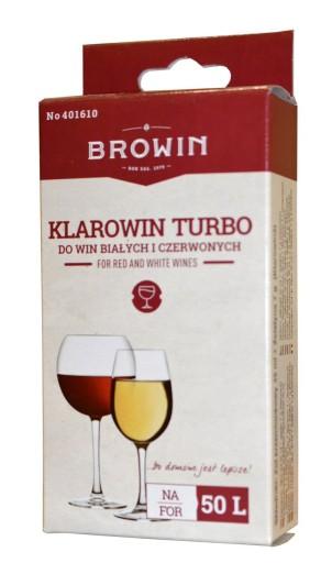 Biowin KLAROWIN TURBO 75g klar do wina na 50l