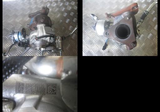 TURBO KOMPRESORIUS turbina MAZDA CX3 1,5D 49130-01930