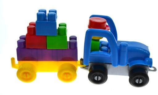 KLOCKI DUŻE Plastikowe Konstrukcyjne ZESTAW 500 el