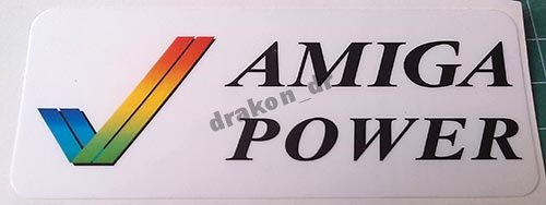 Sticker naklejka na auto Amiga Power checkmark
