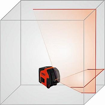 PRO Laser Krzyżowy SMART 1.1HD POZIOMNICA LASEROWA