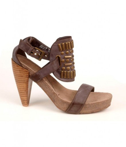 allegro sandały damskie brązowe