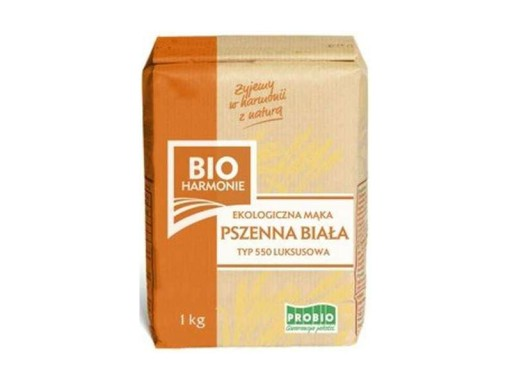Mąka Pszenna Typ 550 Luksusowa 1kg - Bio Harmonie