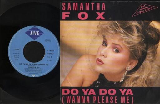 SAMANTHA FOX - DO YA DO YA - DROP ME A LINE