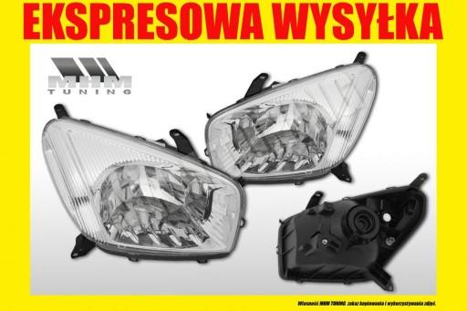 REFLEKTOR LAMPA TOYOTA RAV 4 II 2 XA20 2000- L