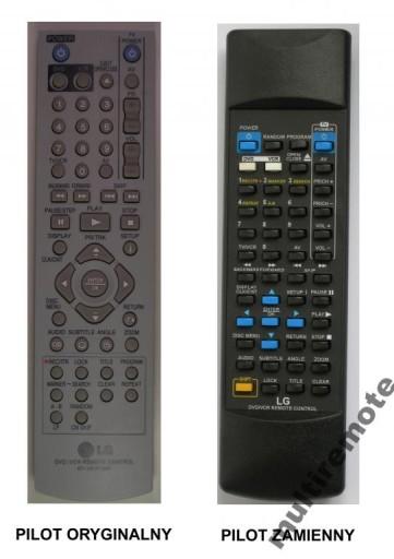 PILOT ZAMIENNIK DO LG DVD-VCR V280 ! ! NOWY ! !