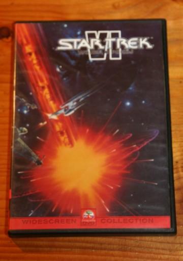 STAR TREK 6 WOJNA O POKÓJ  DVD