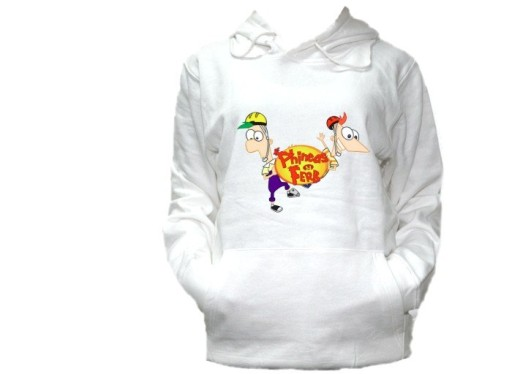 Bluza Z Kapturem Phineas And Ferb Fineasz I Ferb 7370586814 Allegro Pl