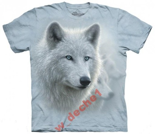 cc260b840 WILK - WHITE OUT -THE MOUNTAIN - koszulka rozm XL 7499178893 ...