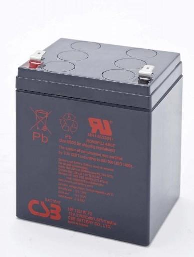 Akumulator CSB HR1221W F2 (12V;5,1Ah) do RBC29;44