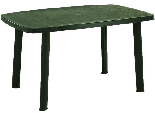 Mocny Duży 135x85 Stół Stolik Ogrodowy Plastikowy