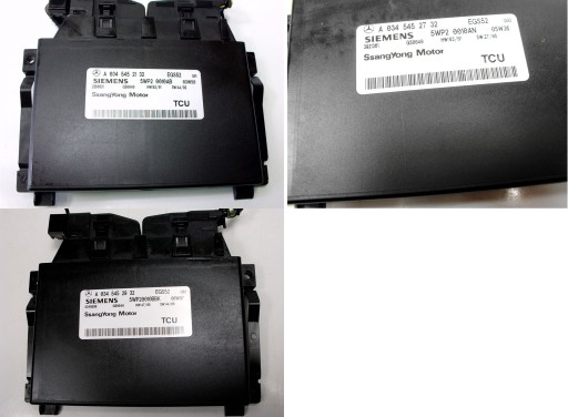 SSANGYONG REXTON 2.7XDI CONTROLLER BOXES COMPUTER